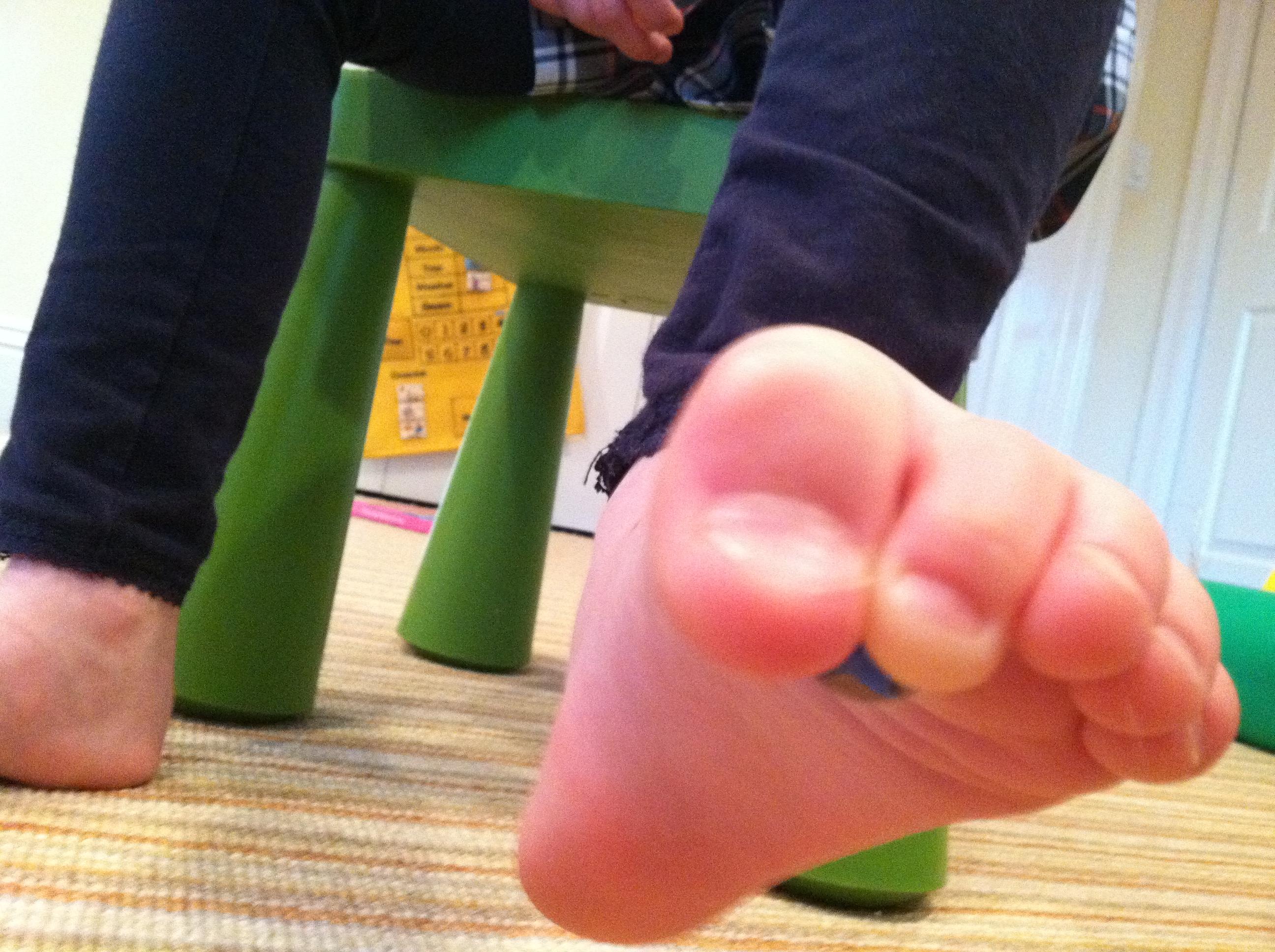 arthritis foot stretch