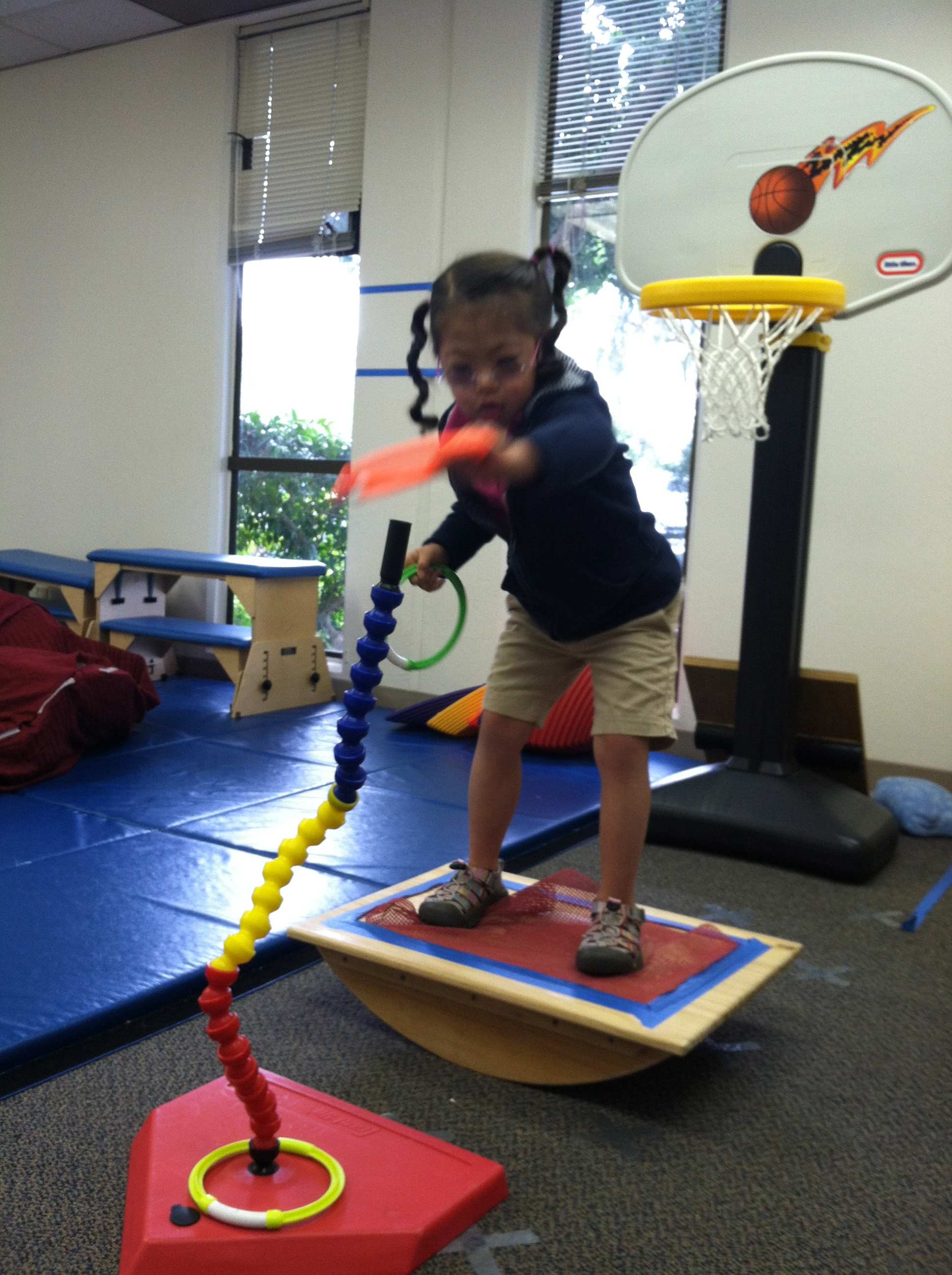 Cerebral palsy physical therapy - Balance Board