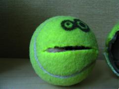 tennis ball monster
